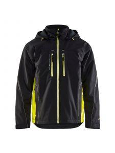 Lightweight Winter Jacket 4890 Zwart/High Vis Geel - Blåkläder