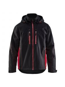 Lightweight Winter Jacket 4890 Zwart/Rood - Blåkläder