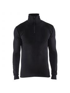 Underwear Top Warm 50% Merino 4891 Zwart - Blåkläder