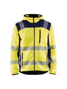 Knitted High Vis Jacket 4923 High Vis Geel/Marineblauw - Blåkläder