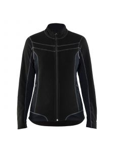 Ladies Micro Fleece Jacket 4924 Zwart - Blåkläder