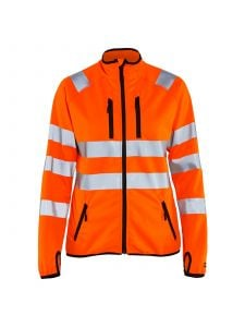Ladies High Vis Jacket Softshell 4926 Orange - Blåkläder