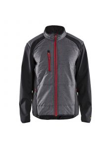 Hybrid Jacket 4929 Zwart/Rood - Blåkläder