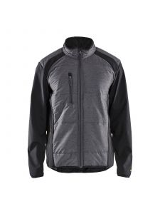 Hybrid Jacket 4929 Zwart/Donkergrijs - Blåkläder