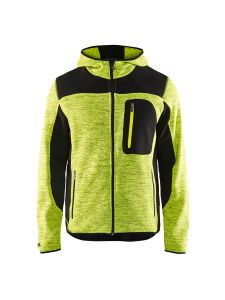 Blåkläder 4930-2117 Knitted Jacket - High Vis Yellow