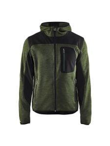 Blåkläder 4930-2117 Knitted Jacket - Army Green
