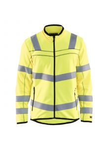 High Vis Microfleece Jacket 4941 High Vis Geel - Blåkläder