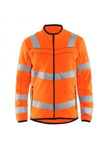 High Vis Microfleece Jacket 4941 High Vis Oranje - Blåkläder