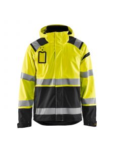 High Vis Shell Jacket 4987 High Vis Geel/Zwart - Blåkläder
