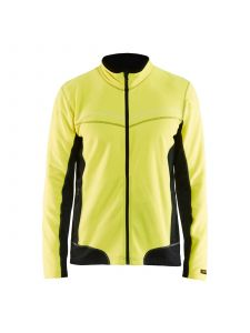 Micro Fleece Jacket 4997 High Vis Geel/Zwart - Blåkläder