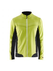 Micro Fleece Jacket 4997 Lime/Zwart - Blåkläder