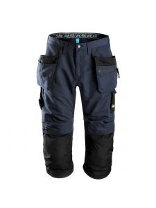 Snickers 6103 LiteWork, 37.5® Work Pirate Trousers+ with Holster Pockets - Navy