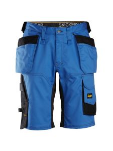 Snickers 6151 AllroundWork, Stretch Loose fit Work Shorts with Holster Pockets - True Bleu