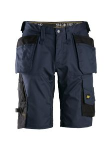Snickers 6151 AllroundWork, Stretch Loose fit Work Shorts with Holster Pockets - Navy