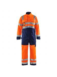 High Vis Overall 6373 High Vis Oranje/Marineblauw - Blåkläder