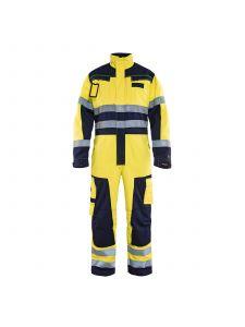Multinorm Overall 6378 High Vis Geel/Marineblauw - Blåkläder