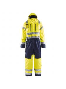 Winter Overall, High Vis 6763 High Vis Geel/Marineblauw - Blåkläder