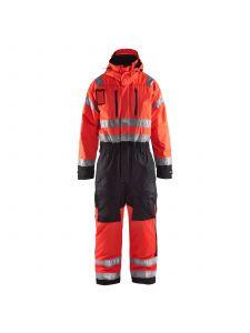 Winter Overall, High Vis 6763 High Vis Rood/Zwart - Blåkläder