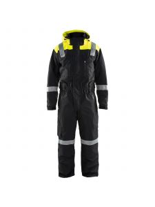 Winter Coverall 6787 Zwart/High Vis Geel - Blåkläder