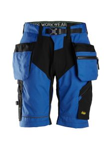 Snickers 6904 FlexiWork, Work Shorts+ with Holster Pockets - True Blue