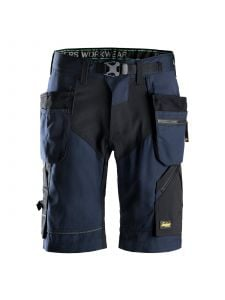 Snickers 6904 FlexiWork, Work Shorts+ with Holster Pockets - Navy
