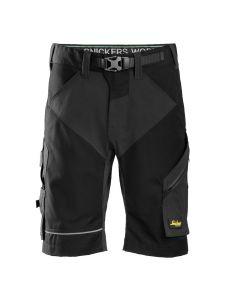 Snickers 6914 FlexiWork, Work Shorts+ - Black