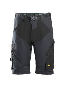 Snickers 6914 FlexiWork, Work Shorts+ - Steel Grey