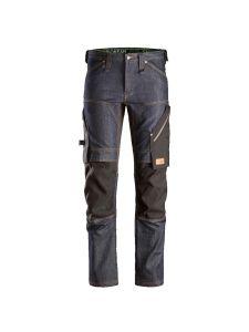 Snickers 6956 FlexiWork, Denim Work Trousers+