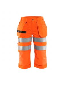 Ladies Pirate Shorts High Vis 7139  High Vis Oranje - Blåkläder