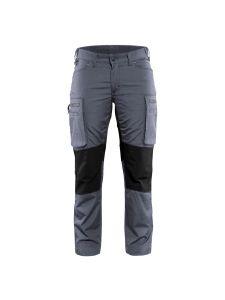 Blåkläder 7159-1845 Women's Service Trouser Stretch - Grey