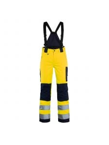 Ladies High Vis Trouser 7885 High Vis Geel/Marineblauw  - Blåkläder