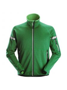 Snickers 8004 AllroundWork, 37.5® Fleece Jacket - Apple Green