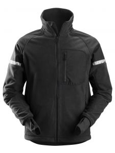 Snickers 8005 AllroundWork, Windproof Fleece Jacket - Black