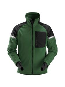 Snickers 8005 AllroundWork, Windproof Fleece Jacket - Forest Green