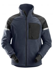 Snickers 8005 AllroundWork, 8005 Windproof Fleece Jacket - Navy