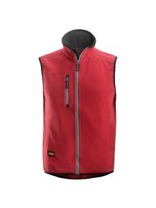 Snickers 8014 A.I.S. Fleece Vest - Chili Red