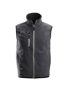 Snickers 8014 A.I.S. Fleece Vest - Steel Grey