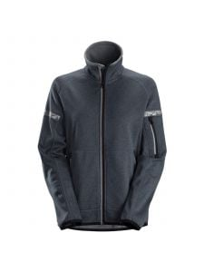 Snickers 8017 AllroundWork, Women's 37.5® Fleece Jacket - Steel Grey