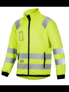 Snickers 8063 High-Vis Micro Fleece Jacket, Class 3 - High Vis Yellow