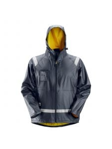 Snickers 8200 Rain Jacket PU - Navy