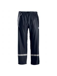 Snickers 8201 Rain Work Trousers PU - Navy