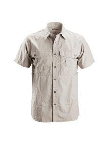 Snickers 8506 Rip Stop Shirt s/s - Aluminium Grey
