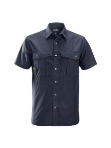 Snickers 8506 Rip Stop Shirt s/s - Navy