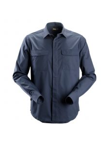Snickers 8510 Service Shirt l/s - Navy