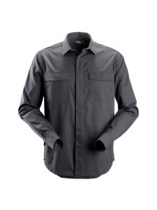 Snickers 8510 Service Shirt l/s - Steel Grey