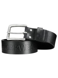 Snickers 9034 Leather Belt - Black