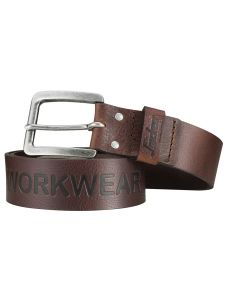 Snickers 9034 Leather Belt - Chocolate Brown