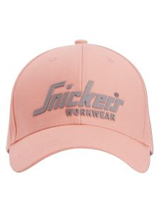 Snickers 9041 Logo Cap - Devon Pink
