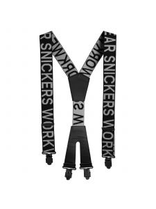 Snickers 9064 Logo Braces - Black/Steel Grey