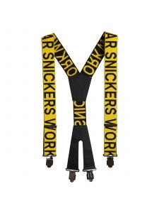 Snickers 9064 Logo Braces - Yellow/Black
